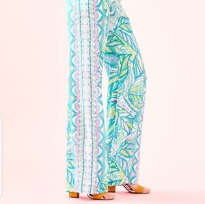 """Lilly Pulitzer Pants - NWT Lilly Pulitzer 33"""" Bal Harbour Palazzlo Pants"""